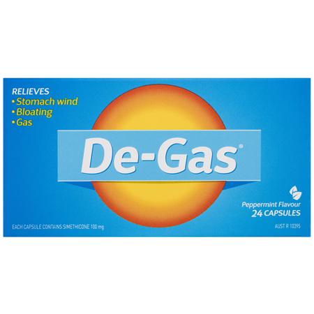 De-Gas Capsules 24 Pack