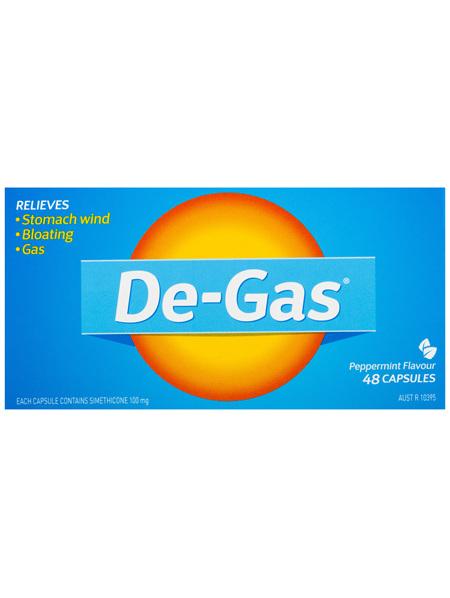 De-Gas Capsules 48 Pack