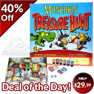 Munchkin Treasure Hunt