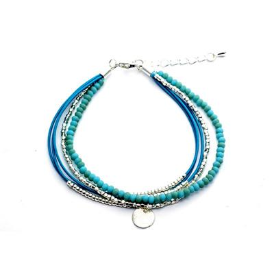 Del Ray Bracelet - Blue/Silver