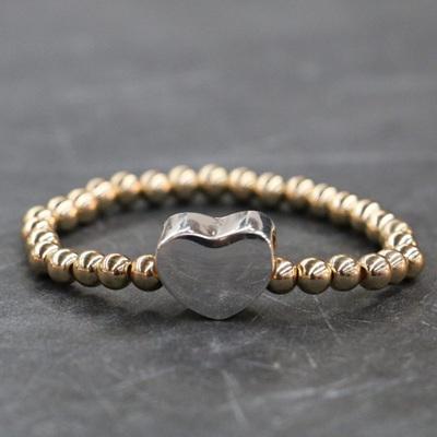 Delaney Heart  Bracelet - Gold