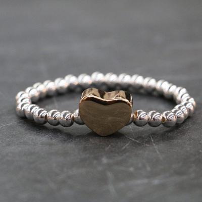 Delaney Heart  Bracelet - Silver