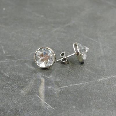 Delia Stud Earrings Crystal
