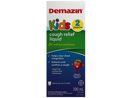 Demazin Kids Cough Relief  200mL