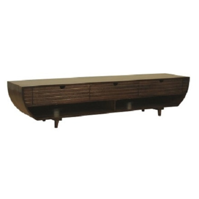 Demilune Entertainment Unit Warm Rich 180x40cm WAS $1649.90