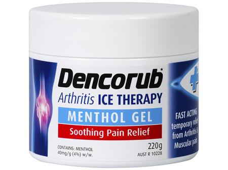 Dencorub Arthritis Ice Gel 220g
