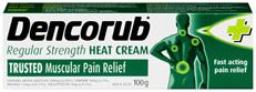 Dencorub Regular Strength Heat Cream 100g