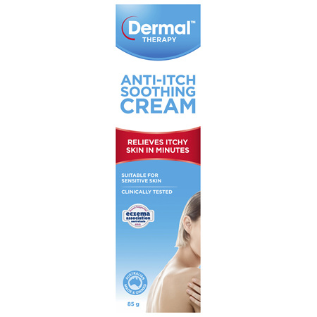 Dermal Therapy Anti-Itch Soothing Cream 85g