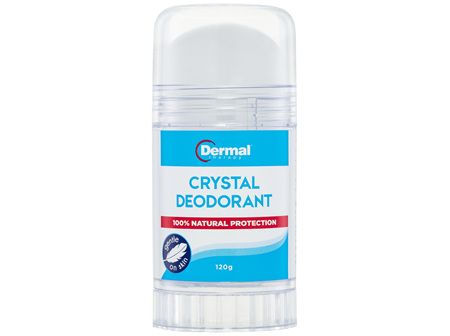 Dermal Therapy Crystal Deodorant 120g