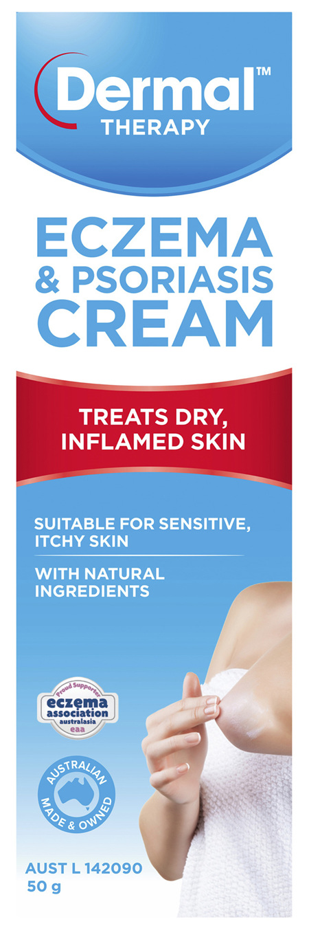 Dermal Therapy Eczema & Psoriasis Cream 50g