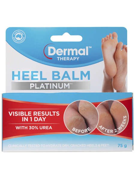 Dermal Therapy Heel Balm Platinum 75g