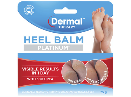 Dermal Therapy Heel Balm Platinum 75g