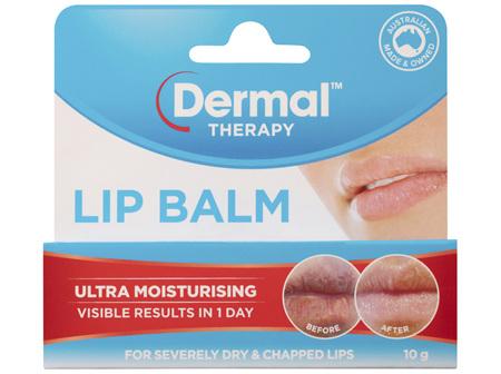 Dermal Therapy Lip Balm Original 10g
