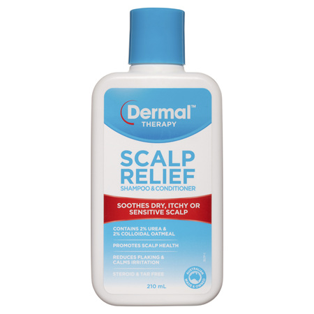 DERMAL THERAPY Scalp Spoo+Cond 210ml