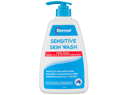 Dermal Therapy Sensitive Skin Wash 1L