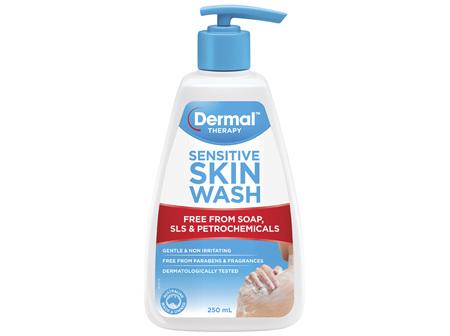 Dermal Therapy Sensitive Skin Wash 250mL