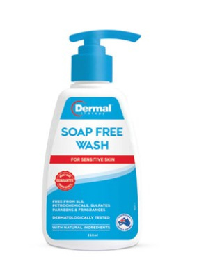 DERMAL THERAPY Soap Free Wash 250ml