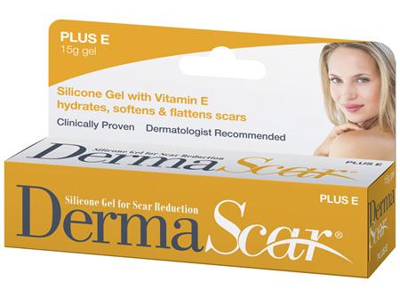DermaScar Plus E Silicone Gel 15g