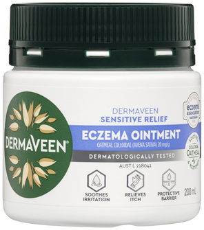 DermaVeen Sensitive Relief Eczema Ointment 200mL