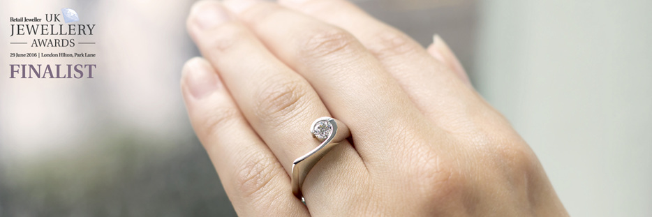Designer diamond ring collections by Inspired Jewellery