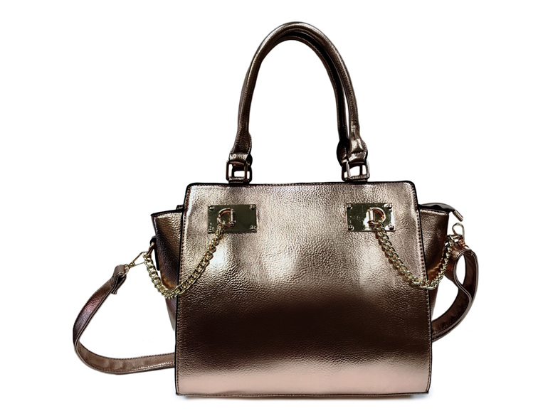 Designer Inspired Handbag - Rose Gold