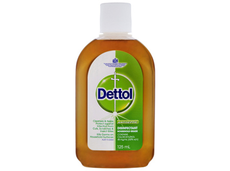 Dettol Antiseptic Antibacterial Disinfectant Liquid 125mL