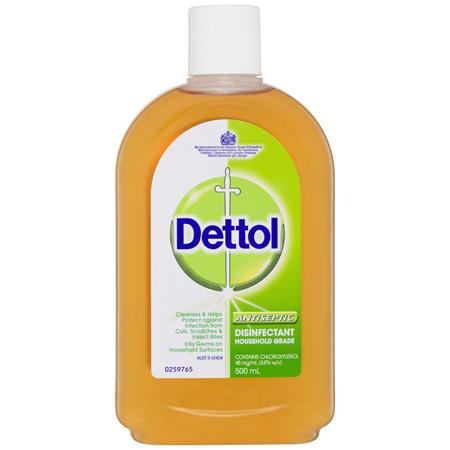 Dettol Antiseptic Antibacterial Disinfectant Liquid 500ml