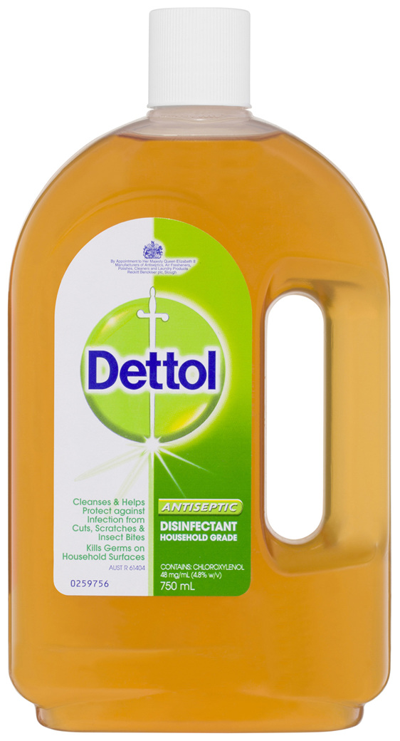 Dettol Antiseptic Antibacterial Disinfectant Liquid 750mL
