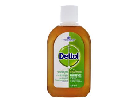 Dettol Classic Antibacterial Disinfectant Liquid 125ml