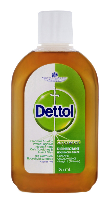 Dettol Classic Antibacterial Disinfectant Liquid 125ml