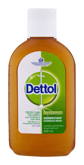 Dettol Classic Antibacterial Disinfectant Liquid 250ml