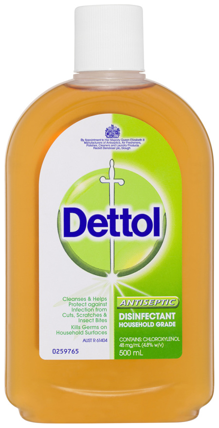 Dettol Classic Antibacterial Disinfectant Liquid Solution 500ml