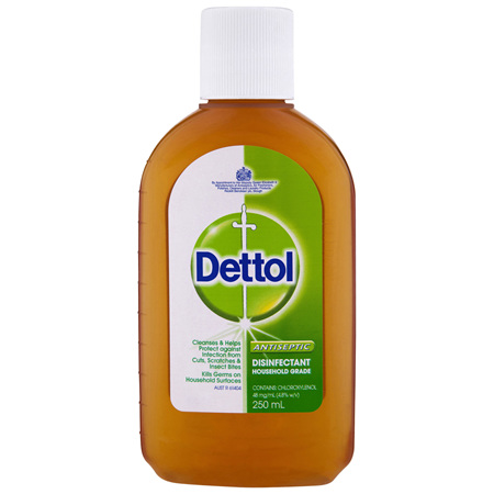 Dettol Classic Antibacterial Disinfectant Liquid Solution 250ml