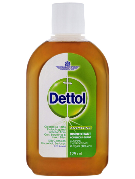 Dettol Classic Antibacterial Disinfectant Liquid Solution 125mL