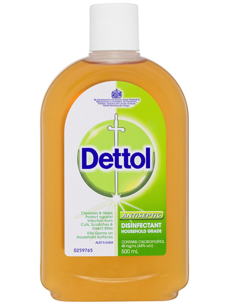 Dettol Classic Antibacterial Disinfectant Liquid Solution 500ml