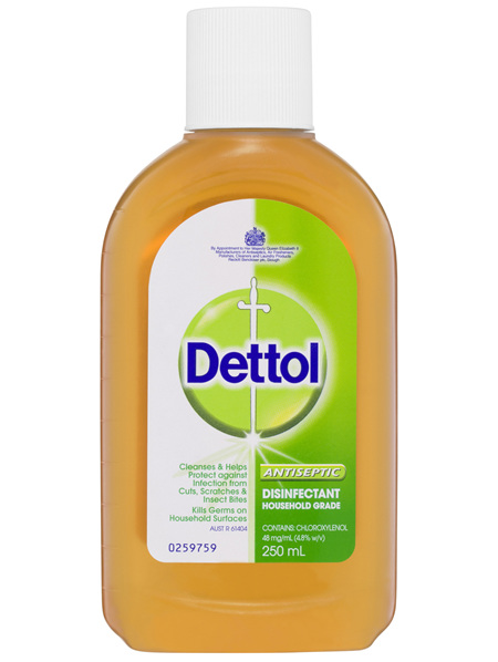 Dettol Classic Antibacterial Disinfectant Liquid Solution 250ml