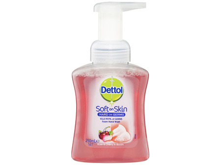 Dettol Foam Hand Wash Rose and Cherry in Bloom 250mL
