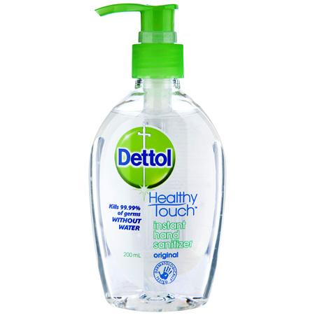 Dettol Healthy Touch Liquid Antibacterial Instant Hand Sanitiser 200mL