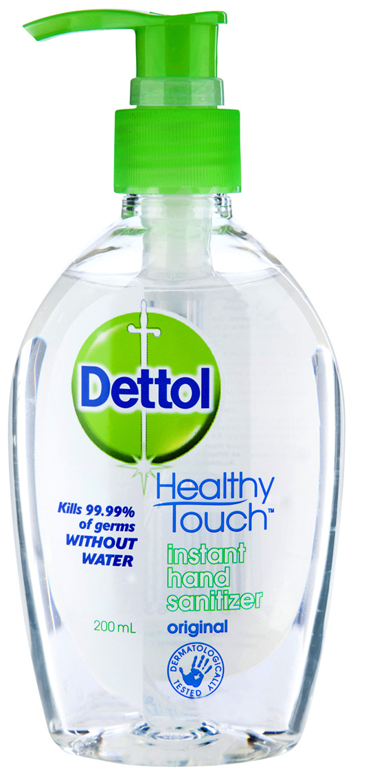 Dettol Healthy Touch Liquid Antibacterial Instant Hand Sanitiser 200mL