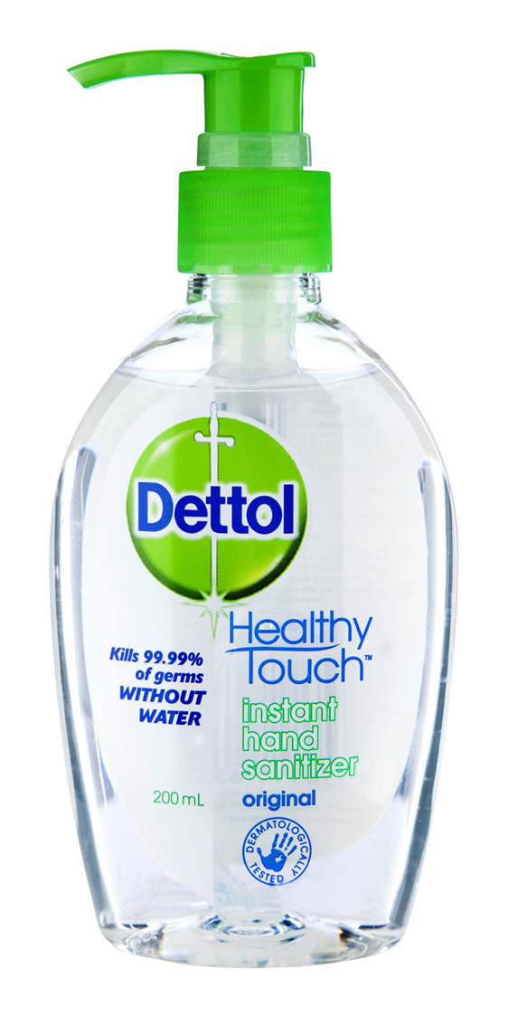 Dettol Instant Liquid Hand Sanitizer Chamomile Anti-Bacterial 200ml
