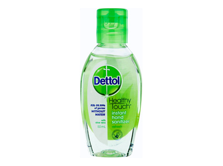 Dettol Instant Liquid Hand Sanitizer Refresh Anti-Bacterial 50ml