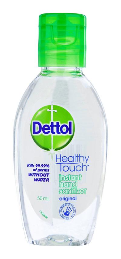 Dettol Instant Liquid Hand Sanitizer Refresh Anti-Bacterial 50ml
