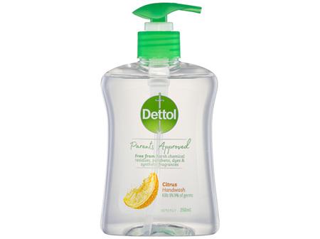Dettol Parents Approved Citrus Hand Wash 250ml