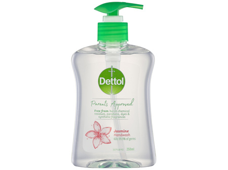 Dettol Parents Approved Hand Wash Anti-bacterial Jasmine 250mL