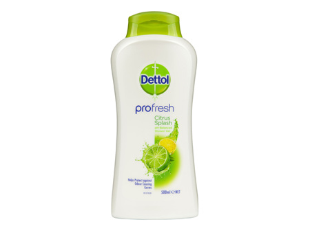 Dettol Profresh Shower Gel Citrus Splash Body Wash 950ml