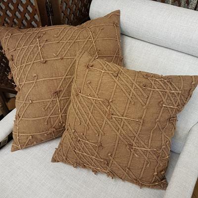 Dewi Cushion W Flex And Dori - Warm Rust 45x45cm