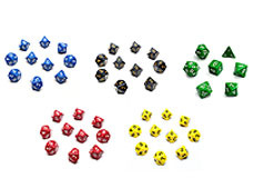 Dice by Colour