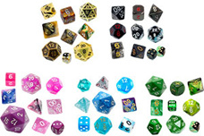 Dice Sorted by Colour