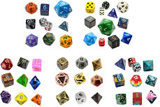 Dice Sorted by Type