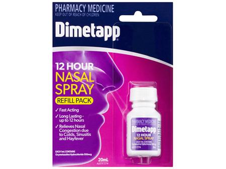 Dimetapp 12 Hour Nasal Spray Refill Pack 20mL